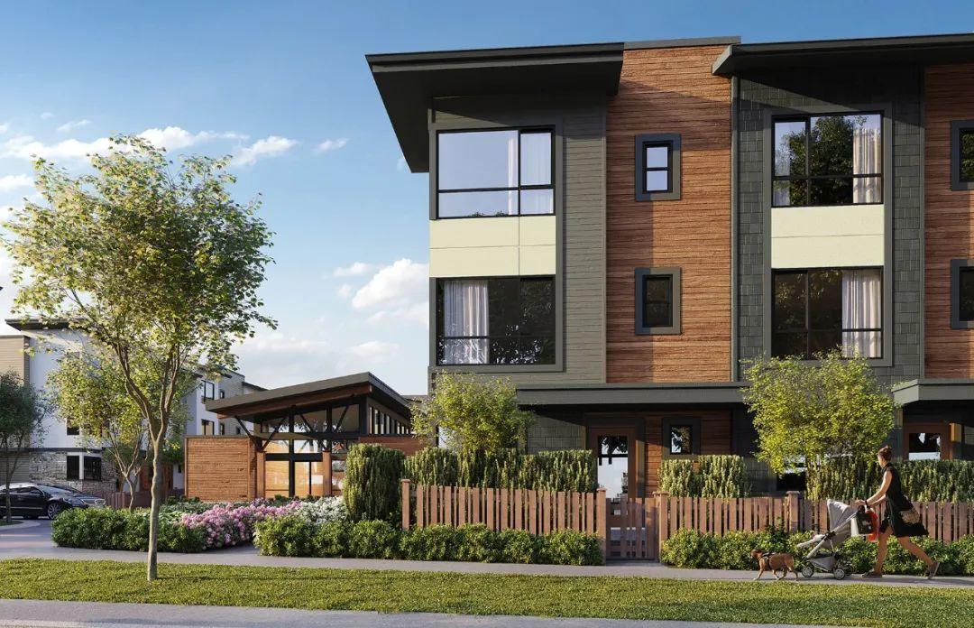 大户型联排别墅仅$50+万起,首批单位入住小区黄金位置!