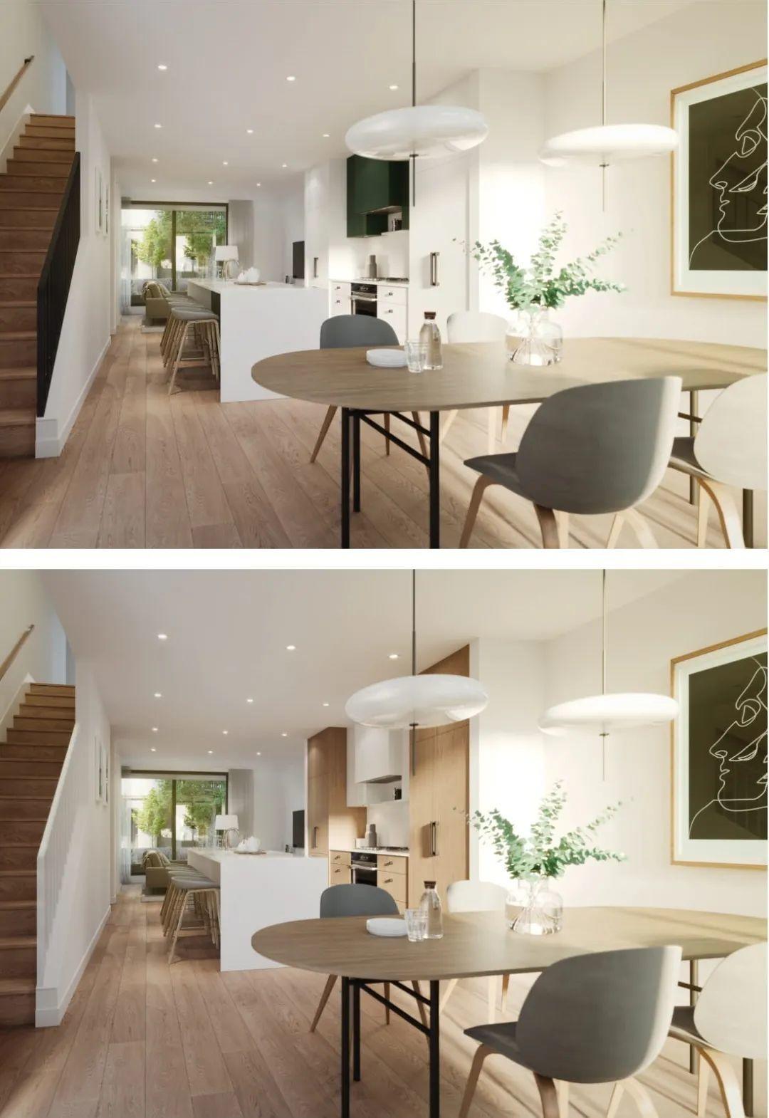 花园公寓和联排别墅任君挑选,下楼就是伊丽莎白女皇公园