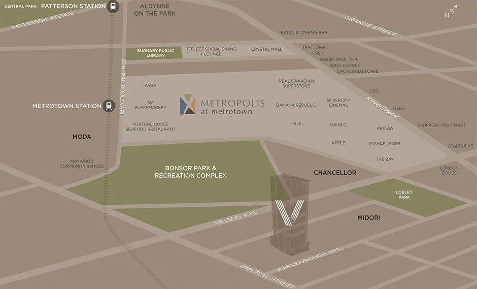 血亏转让!地处黄金地段Metrotown,全小区唯一两层水泥联排楼花转让 | 户型赏析