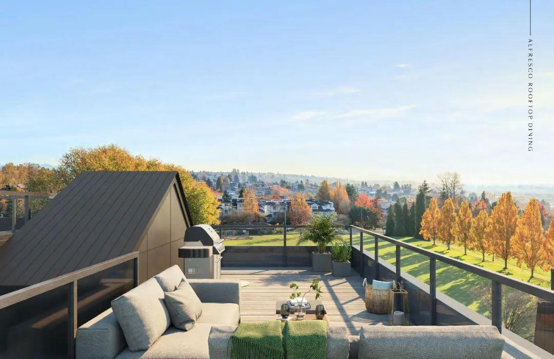 紧邻温西公园美景,位于丘吉尔名校学区,拥有私家花园或顶楼露台