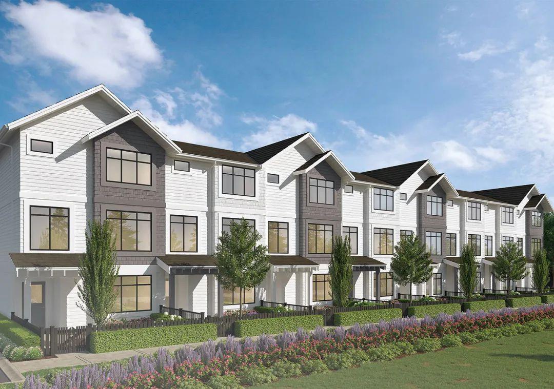 超高性价比学区房!起价仅$69.99万,入住近2000尺大户型联排别墅