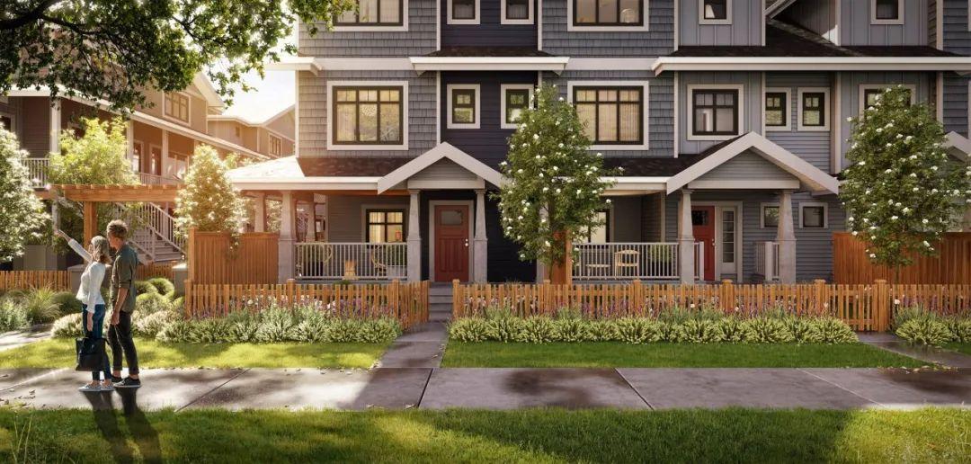 大温中心城区三房联排别墅,起价低至$69.99万