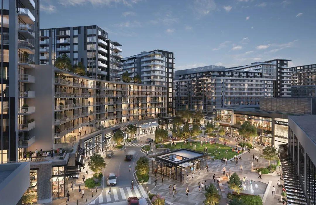 即将开盘!大温门户城市核心黄金地段,购物中心华丽变身世界级综合社区