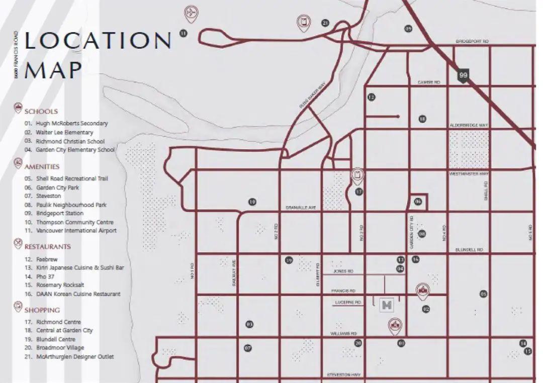列治文中心社区低至$700+/尺,入住南北通透带私人小院精品联排,更有独栋双拼可供选择