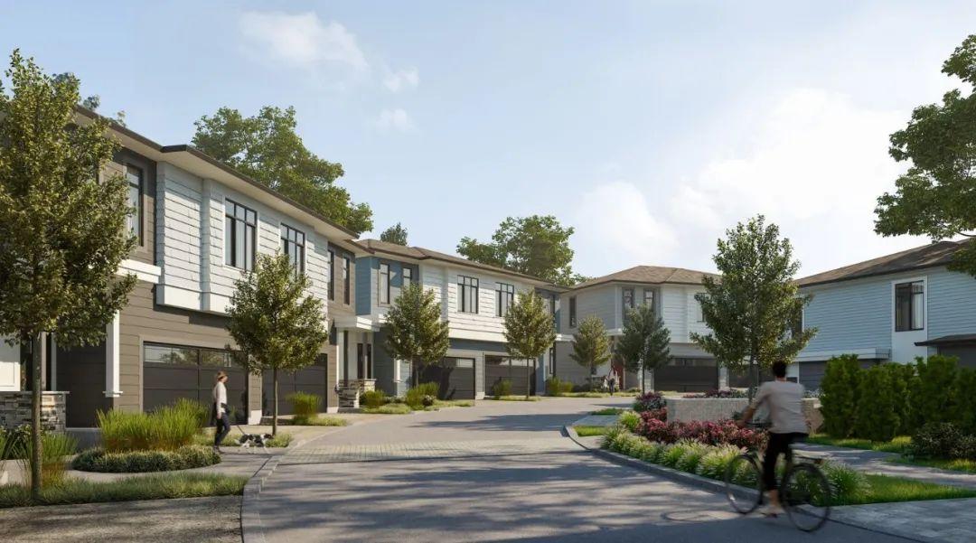 起价低至$50+万,入住紧邻高尔夫球场大型联排小区,还有双拼户型可选