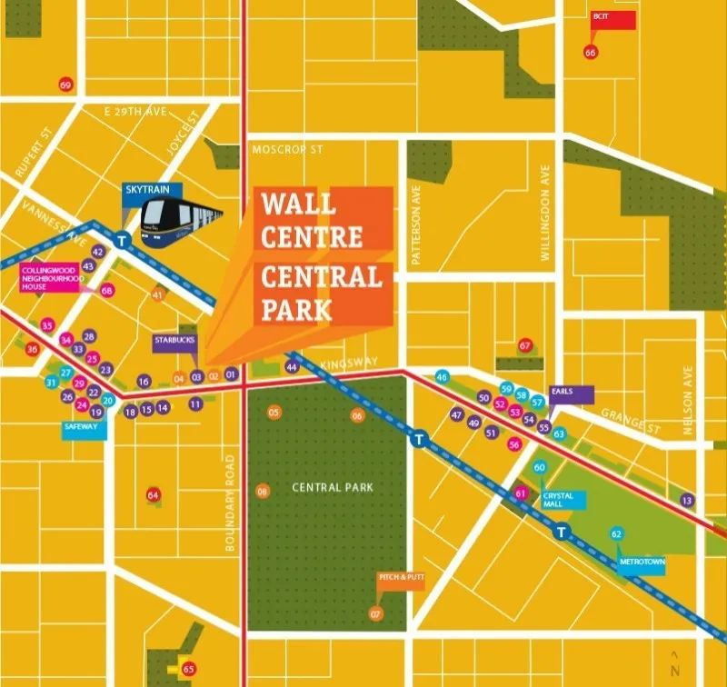 温哥华市区总价仅$40+万,紧邻城市绿洲及天车站,2年新南向1房单位 | 户型赏析