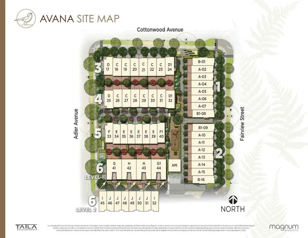 起价低至$68.99万,步行即达天车站,入住紧邻全新社区公园2-3房联排小区