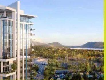 起价低至$45.99万,入住北温最高建筑,还有跃层、复式户型可选