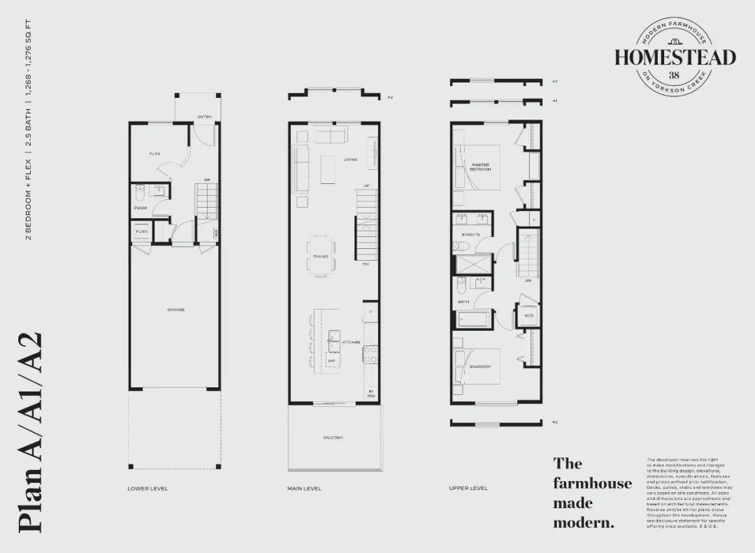 起价低至$61.99万,入住紧邻大型社区公园的2-4房联排别墅